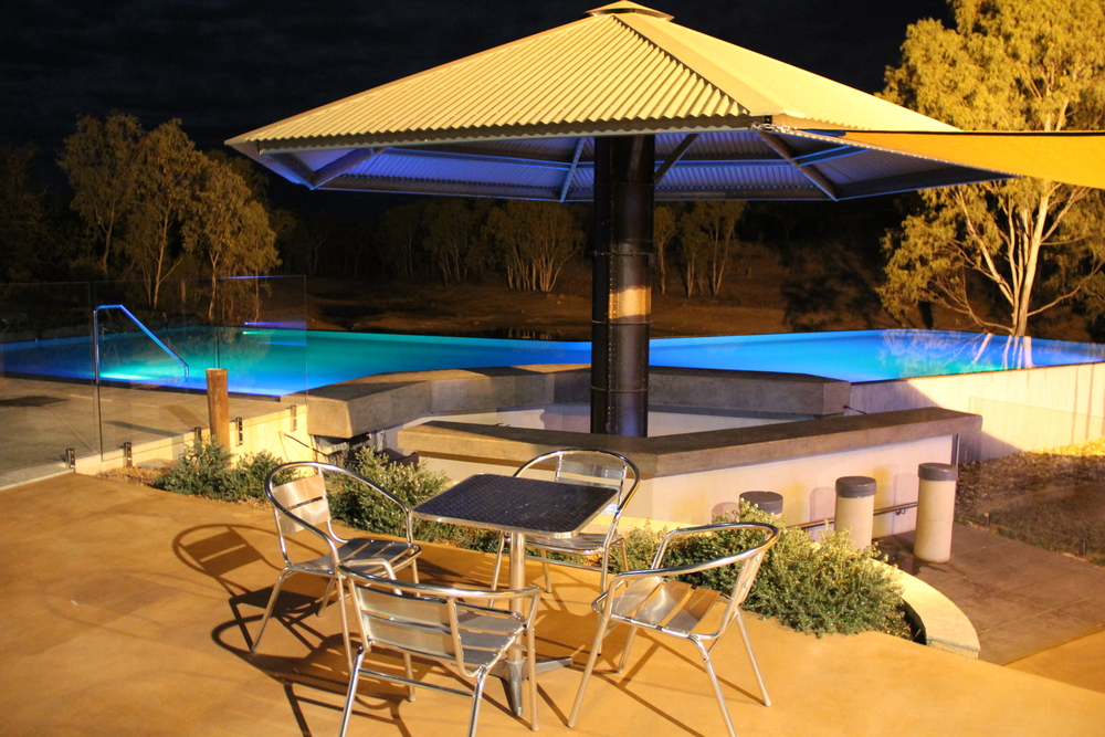 scenic cobbold gorge-Deck and Pool